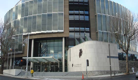 Dublin Circuit Criminal Court where a man was jailed for robbing shops with a blood-filled syringe