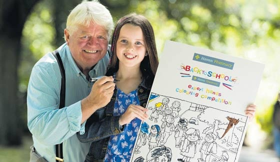 A brush with one of Ireland's most popular children's artists