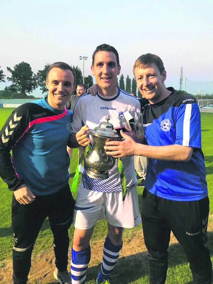 Crumlin celebrate their Charile Cahill Cup success