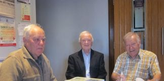 Christy Byrne, Noel Doyle and Sean Magee were part of the research team for the book