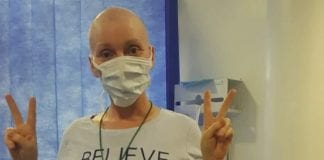 A GoFundMe page has been launched to help 41-year-old mother-of-five Kelly Hommes go to Hungary for cancer treatment