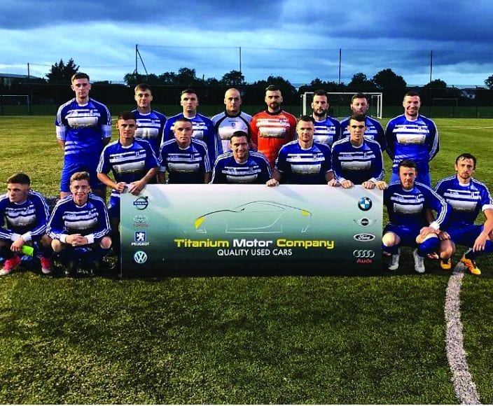Collinstown create yet another piece of history