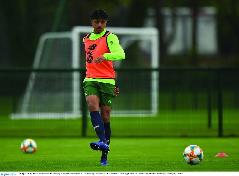 Lucan star aiming to emulate Van Dijk style