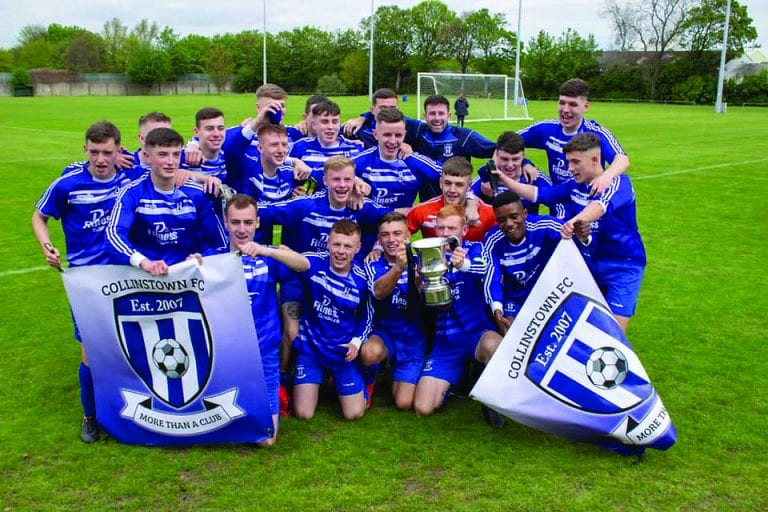 Collinstown add another element of club history