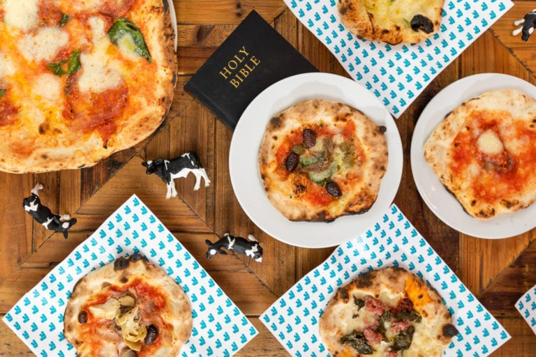 Celebrate 'Small, Far Away' day from Father Ted with a delish pizza