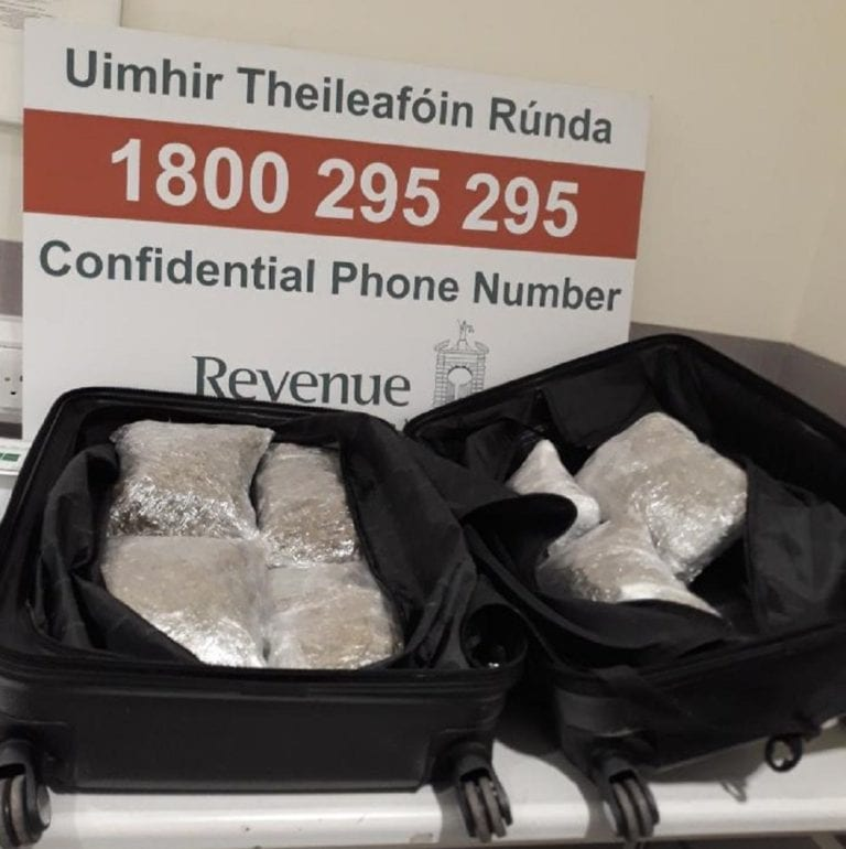 UK national caught with cannabis in their luggage in Dublin airport
